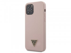 Apple iPhone 12 mini Guess Rózsaszín TPU/Szilikon tok