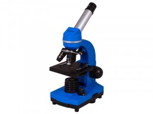 Bresser Junior Biolux SEL 40–1600x Kék mikroszkóp, okostelefon-adapterrel (74322)