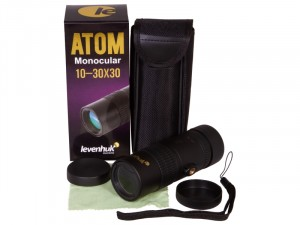 Levenhuk Atom 10–30x30 egyszemes távcső (74096)