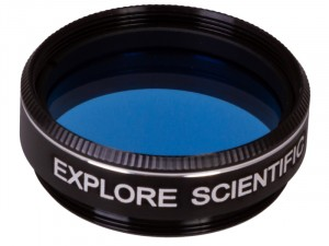Explore Scientific világoskék N82A 1,25 colos szűrő teleszkópokhoz (74789)