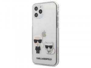 Apple iPhone 12 Pro Max Karl Lagerfeld Átlátszó mintás tok