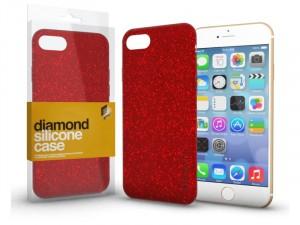 Apple iPhone 11 Diamond Piros Szilikon tok