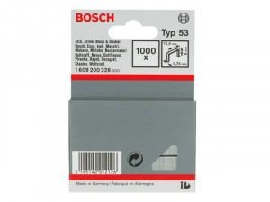 Bosch Type 53 finomhuzal tűzőkapocs 12mm 1000db