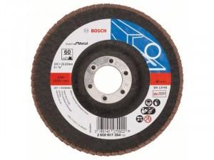 Bosch X551 fíber csiszolótárcsa 125 x 22, 23 mm, P60