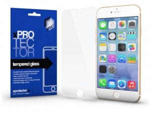 Apple iPhone SE 2020 (0.33mm) Teljes méretű edzett üveg fehér kerettel
