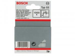 Bosch Type 53 finomhuzal tűzőkapocs 6mm 1000db
