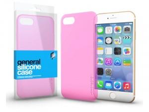 Apple iPhone SE 2020 Ultra vékony (0.33mm) Rózsaszín Szilikon tok