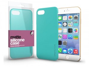 Apple iPhone 7 Matt Mentazöld Ultra Vékony Szilikon tok
