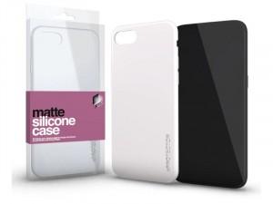 Xiaomi Redmi 9C Matt Opál Fehér Ultra Vékony Szilikon tok