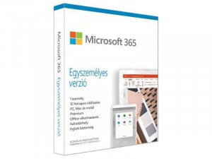 Microsoft Office 365 Előfizetés 1év ( Egyszemélyes verzió)