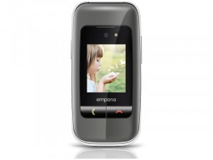 Emporia ONE V200 2G Szürke-Ezüst Mobiltelefon