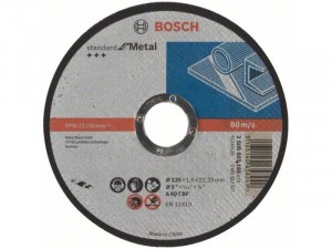 Bosch Darabolótárcsa, egyenes, Standard for Metal 180mmx3,0mm