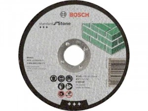 Bosch Darabolótárcsa, egyenes, 125x3mm, 22, 23mm
