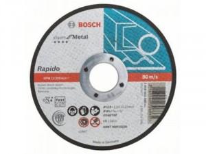 Bosch Expert For Metal darabolótárcsa egyenes, 115x1 mm