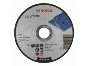 Bosch Expert For Metal darabolótárcsa egyenes, AS 46 S BF, 125mm