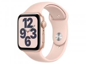 Apple Watch SE 2020 GPS 44mm Arany alumínium tok Rózsaszín homok szíjjal Okosóra