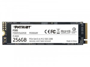 PATRIOT P300 256GB M.2 PCIe SSD meghajtó
