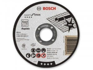 Bosch Expert Inox vágótárcsa 115x1, 0x22, 23mm