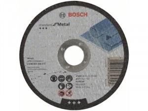 Bosch vágókorong 125x2.5mm fém egyenes