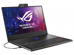 Asus ROG Zephyrus S17 GX701LWS-EV041T 17,3 FHD 144Hz, Intel® Core™ i7-10875H, 32GB, 1TB SSD, NVIDIA® GeForce® RTX 2070 8GB, Windows® 10, Fekete notebook, Webkamerával