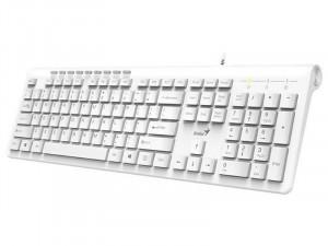 Genius SlimStar 230 USB fehér magyar billentyűzet