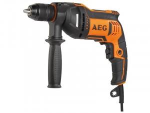 AEG 750 W fúrógép, szerszámtáska - BE 750 R (4935449160)