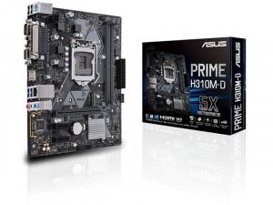 ASUS H310M-D R2.0 alaplap - s1151, Intel® H310, mATX