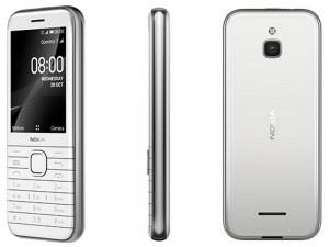 Nokia 8000 Dual-Sim Opál Fehér Mobiltelefon
