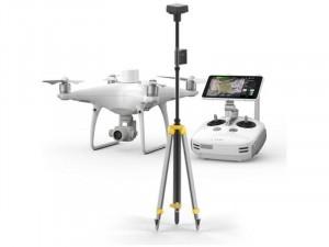 DJI Phantom 4 RTK Drón + D-RTK 2 Mobile Station Combo