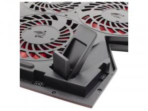 White Shark GCP-29 Ice Wizard Notebook hűtő, 5 ventillátorral