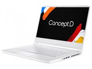 Acer ConceptD 3 CN315-72P-74GL - 15.6 FHD, Intel® Core™ i7 Processzor-10750H, 16GB DDR4, 1TB SSD, NVIDIA Quadro T1000 4GB, WIN10 Pro, Fehér laptop