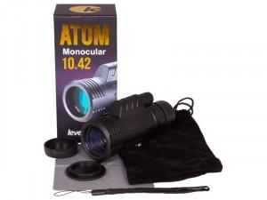 Levenhuk Atom 10x42 egyszemes távcső
