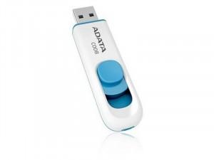 A-Data 8GB USB 2.0 Classic Fehér-Kék Pendrive
