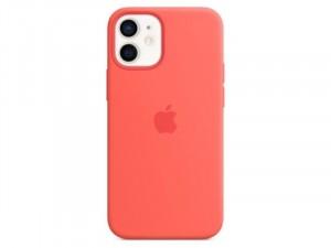 Apple iPhone 12 mini Eredeti Apple MagSafe Ciprus Rózsaszín Szilikon tok