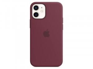 Apple iPhone 12 mini Eredeti Apple MagSafe Szilva Lila Szilikon tok