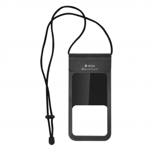 Apple iPhone 12 Pro Max Devia Fekete Műanyag Vízálló tok