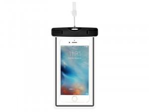Samsung Galaxy A20s Devia Szuper vékony Fekete Műanyag Vízálló tok