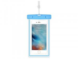Apple iPhone 12 Pro Max Devia Szuper vékony Kék Műanyag Vízálló tok