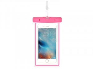 Apple iPhone 12 Pro Max Devia Szuper vékony Rózsaszín Műanyag Vízálló tok