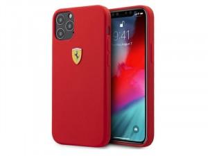 Apple iPhone 12 Pro Max Ferrari Piros Szilikon tok