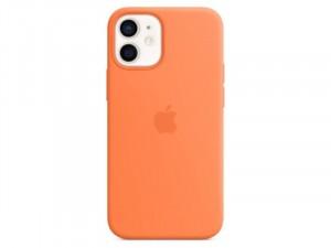 Apple iPhone 12 Eredeti Apple MagSafe Kumquat Sárga Szilikon tok
