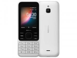 Nokia 6300 Dual-Sim LTE Fehér színű Mobiltelefon