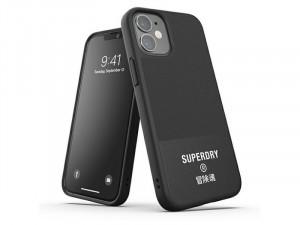 Apple iPhone 12 mini Superdry Fekete tok