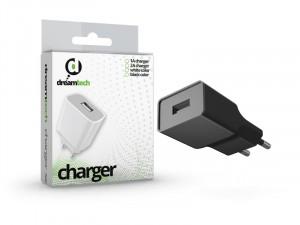Dreamtech 2A USB töltő fekete