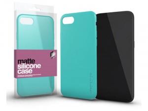 Samsung Galaxy A30s Matt Mentazöld Ultra Vékony Szilikon tok