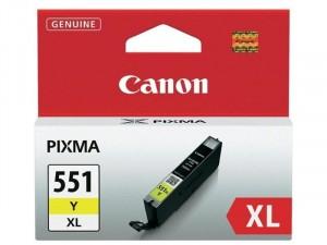 Canon CLI-551XL - Sárga tintapatron