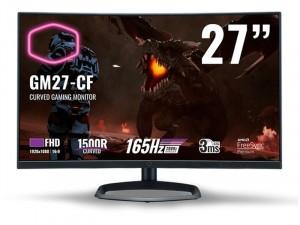 Cooler Master GM27-CF 27 colos VA LED Hajlított kijelzős Fekete monitor