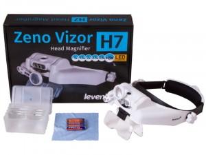 Levenhuk Zeno Vizor H7 fejre rögzíthető nagyító
