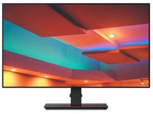 Lenovo ThinkVision P27q-20 IPS 27 colos Fekete Monitor