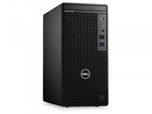Dell Optiplex 3080MT - Ci5-10500, 8GB, 256GB SSD, DVDRW, Linux Fekete Asztali Számítógép